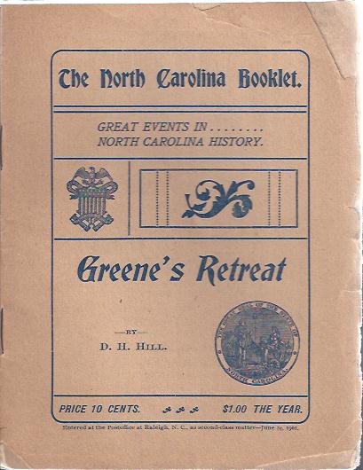 Image for Greene's Retreat Great Events in North Carolina History