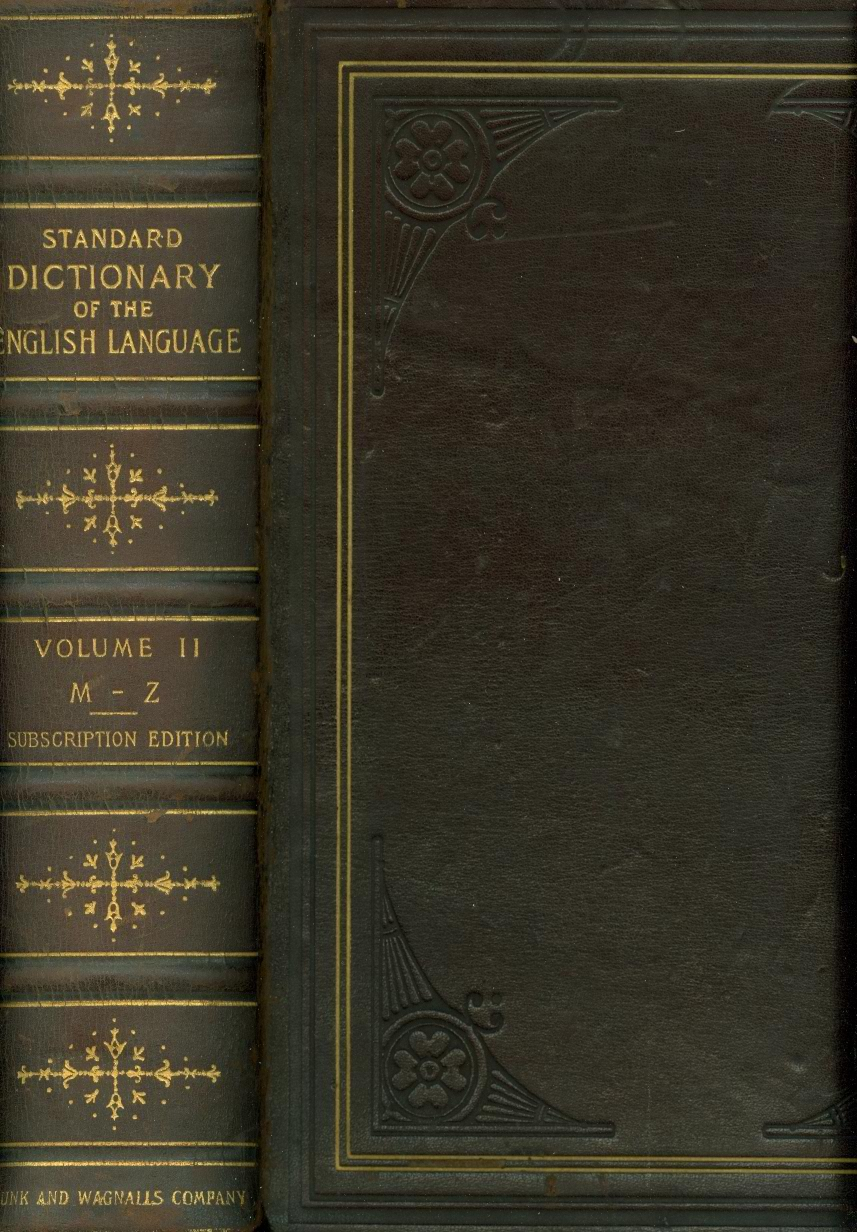 Image for A Standard Dictionary of the English Language