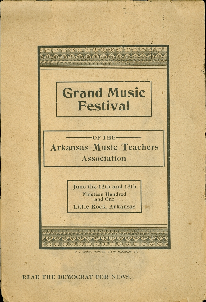 Image for Grand Music Festival of the Arkansas Music Teachers Association