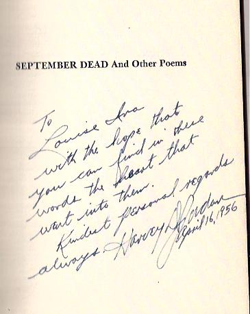 Image for September Dead and Other Poems