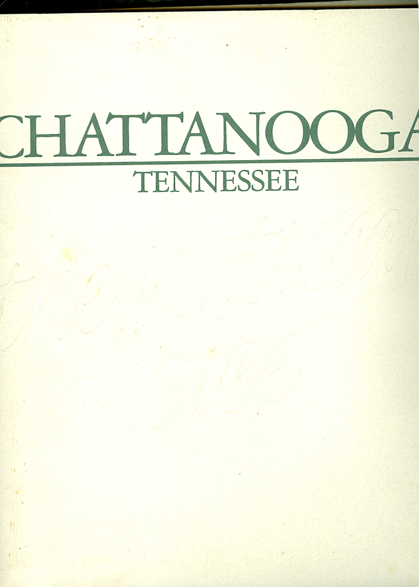 Image for Chattanooga Tennessee the Natural Choice