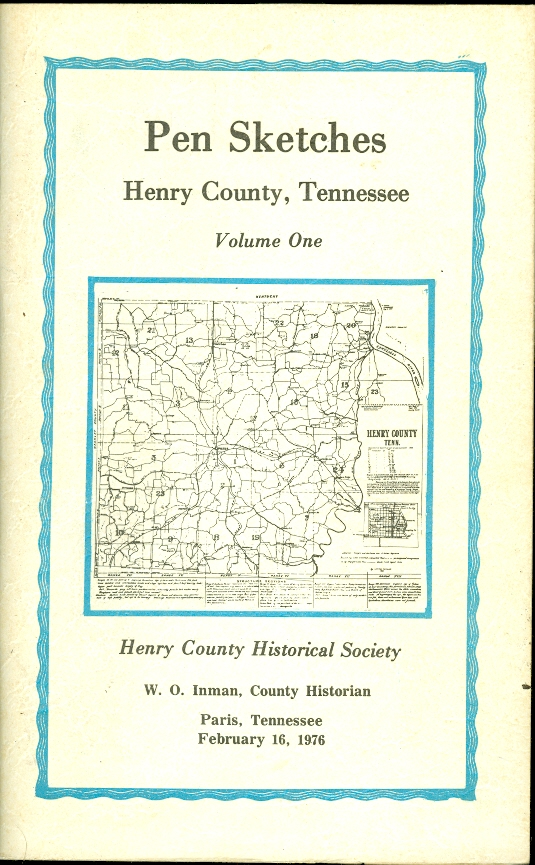 Image for Pen Sketches Henry County, Tennessee Volume One