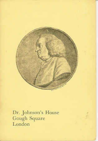 Image for Dr. Johnson's House Gough Square London