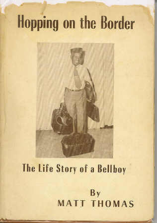 Image for Hopping on the Border The Life Story of a Bellboy