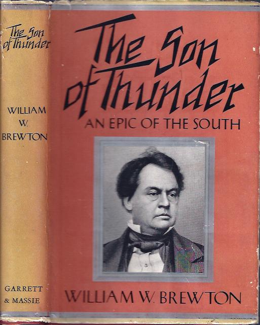 Image for The Son of Thunder An Epic of the South