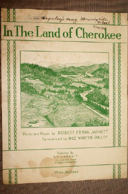 Image for In the Land of Cherokee