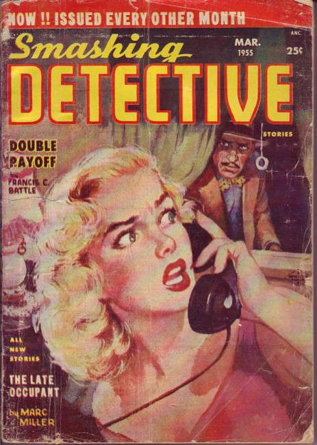 Image for Smashing Detective March 1955