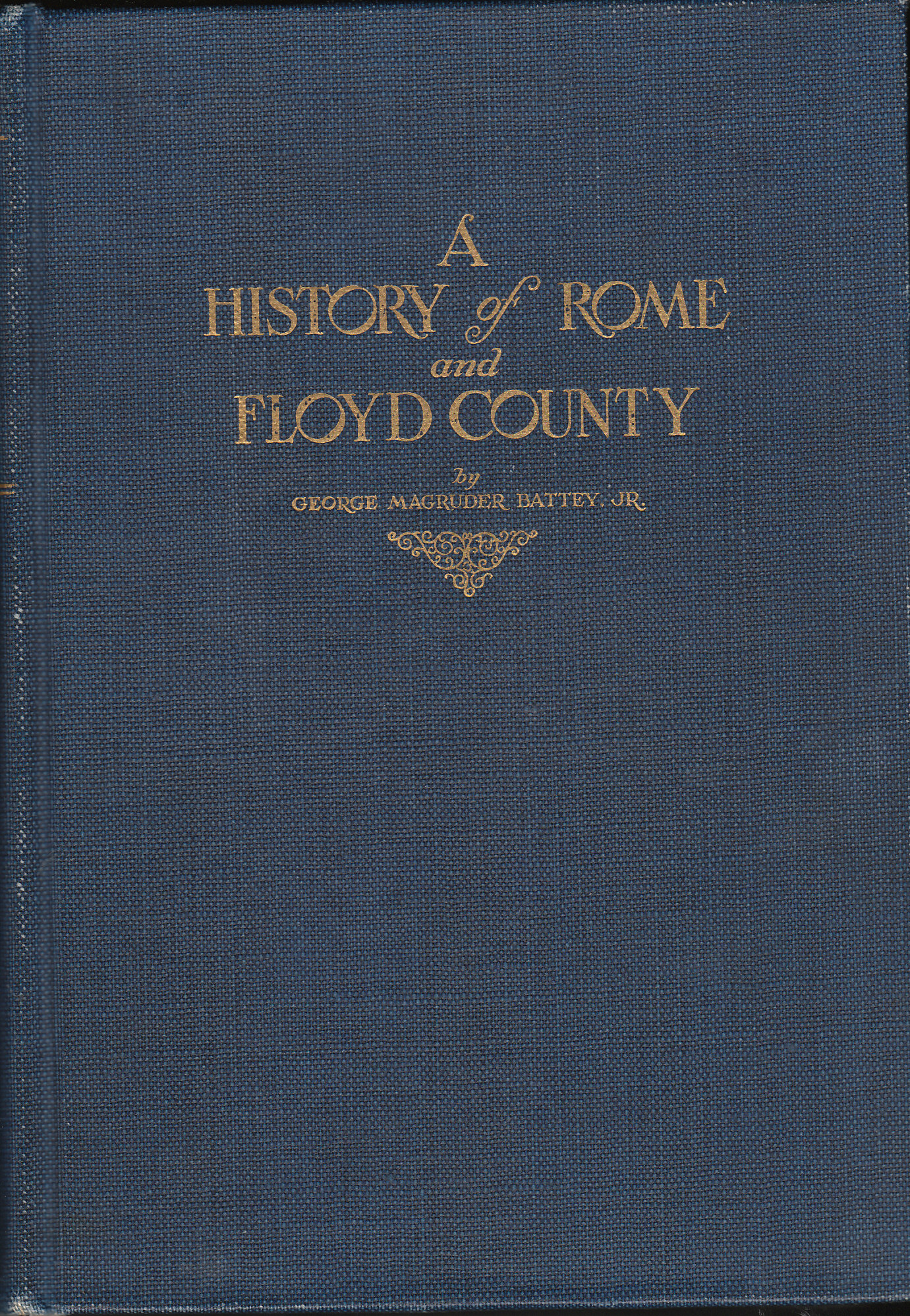 Image for A History of Rome and Floyd Co.