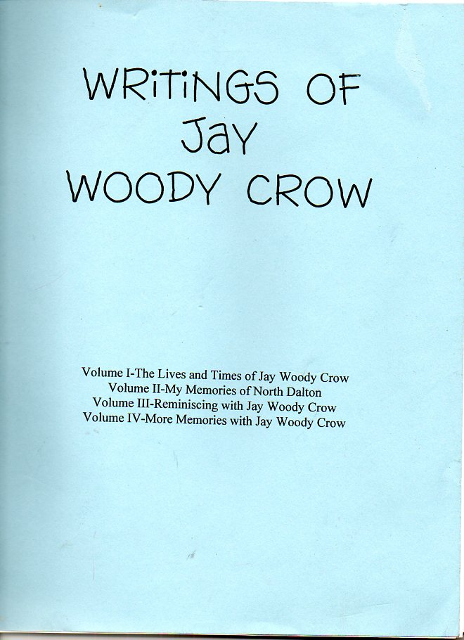 Image for Writings of Jay Woody Crow