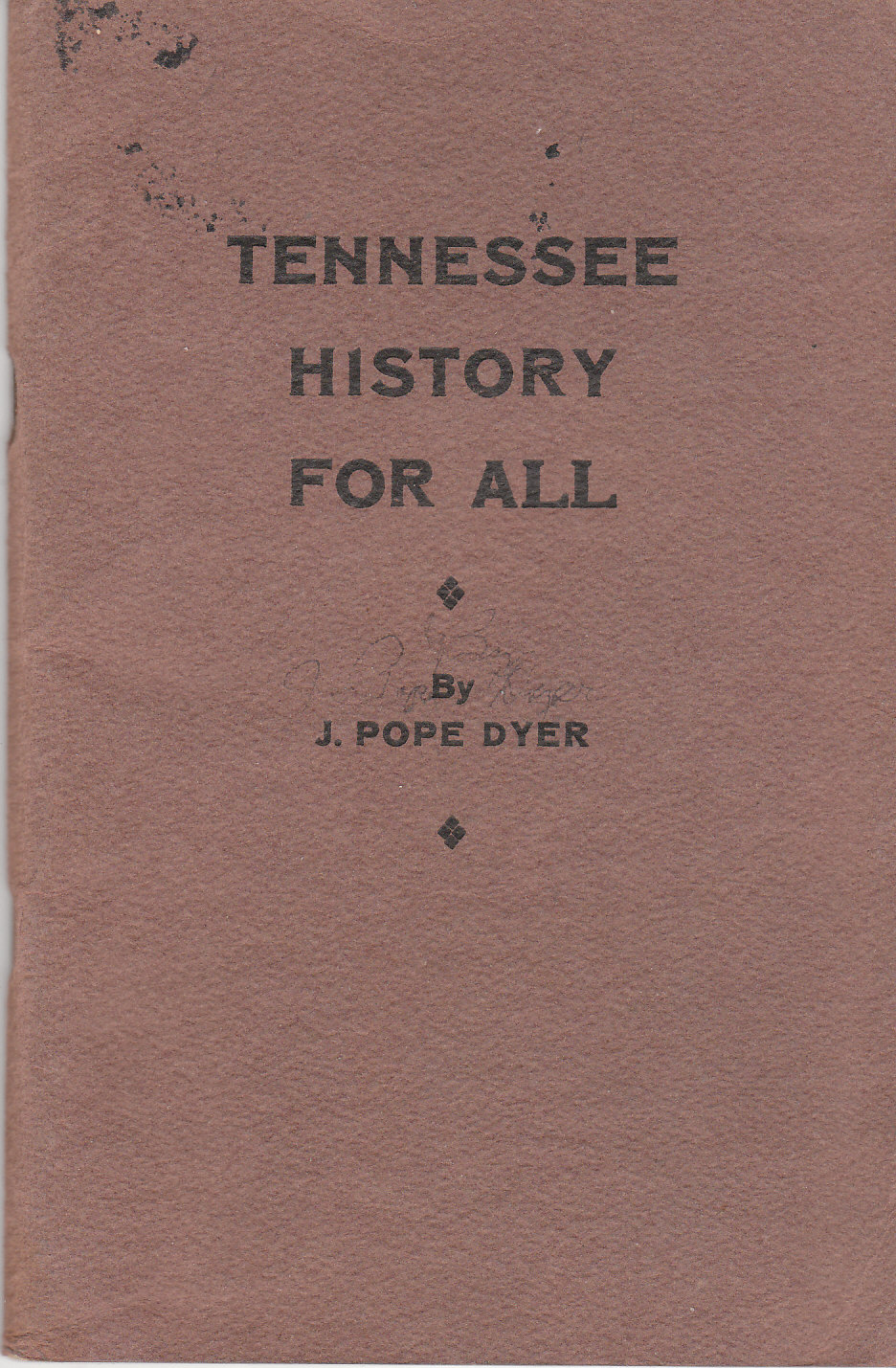 Image for Tennessee History for All