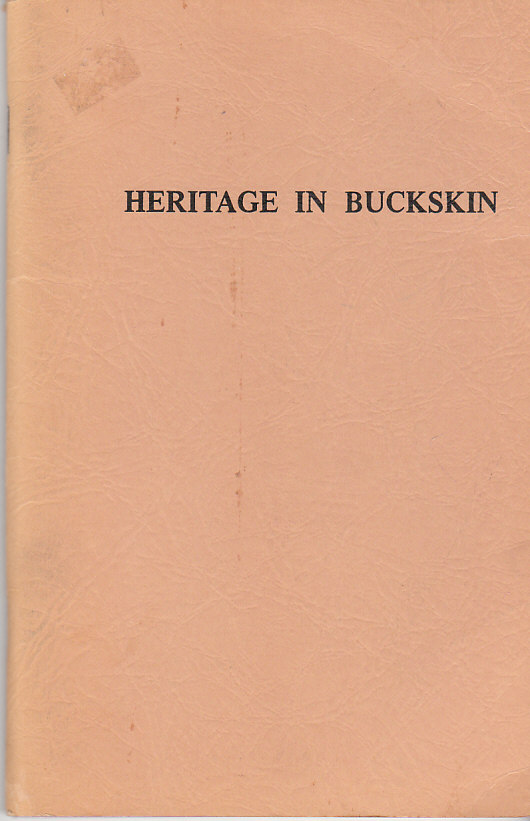 Image for Heritage in Buckskin
