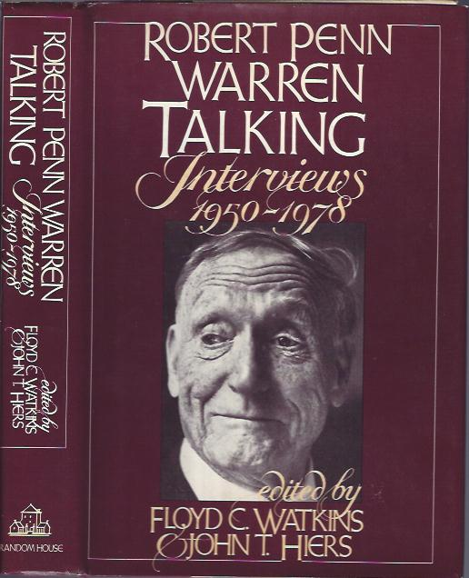 Image for Robert Penn Warren Talking Interviews 1950-1978