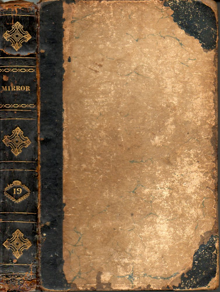 Image for The Mirror of Literature, Amusement and Instruction Containing Original Essays, Etc.