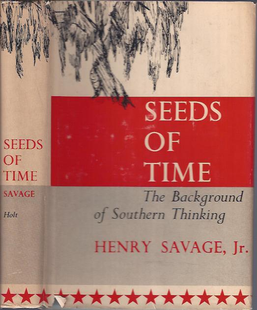 Image for Seeds of Time The Background of Southern Thinking