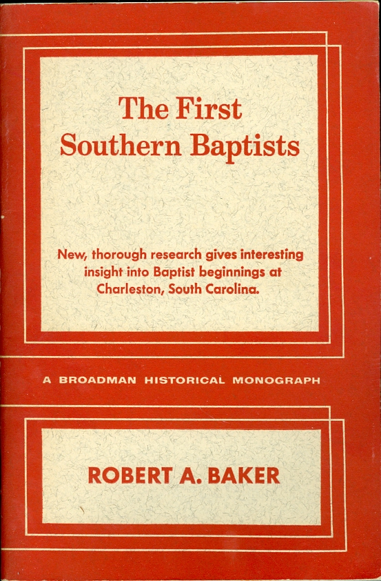 Image for The First Southern Baptists