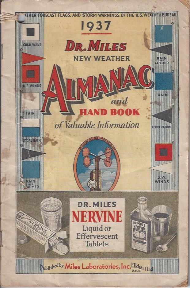 Image for Dr. Miles New Weather Almanac and Hand Book of Valuable Information