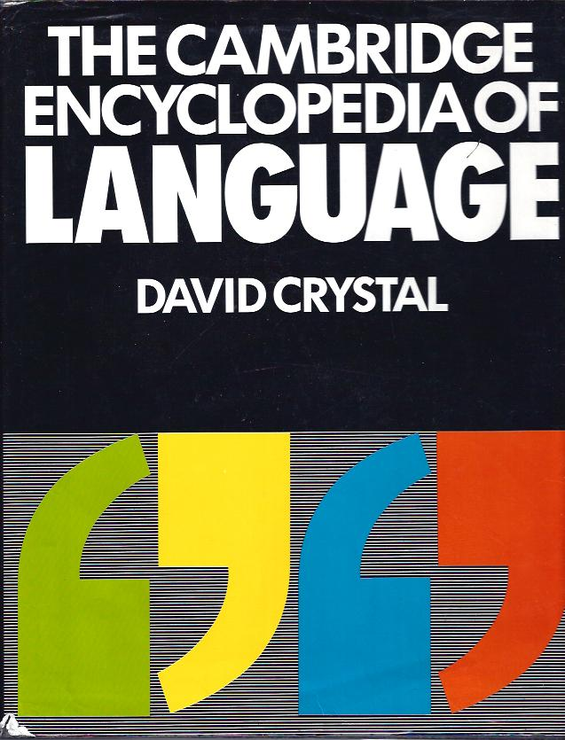 Image for The Cambridge Encyclopedia of Language