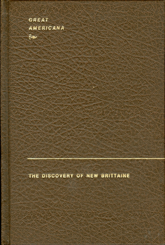 Image for The Discovery of New Brittaine
