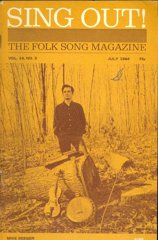 Image for Sing Out!  The Folk Song Magazine