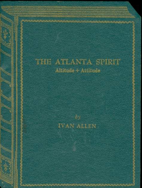 Image for The Atlanta Spirit: Altitude + Attitude