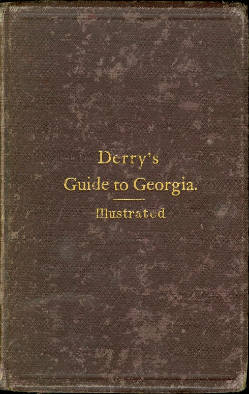 Image for Georgia: a Guide to its Cities, Towns, Scenery, and Resources With Tables Containing Valuable Information for Persons Desiring to Settle or to Make Investments Within the Limits of the State