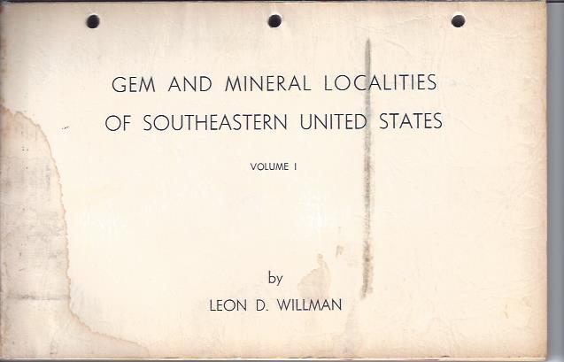 Image for Gem and Mineral Localities of Southeastern United States
