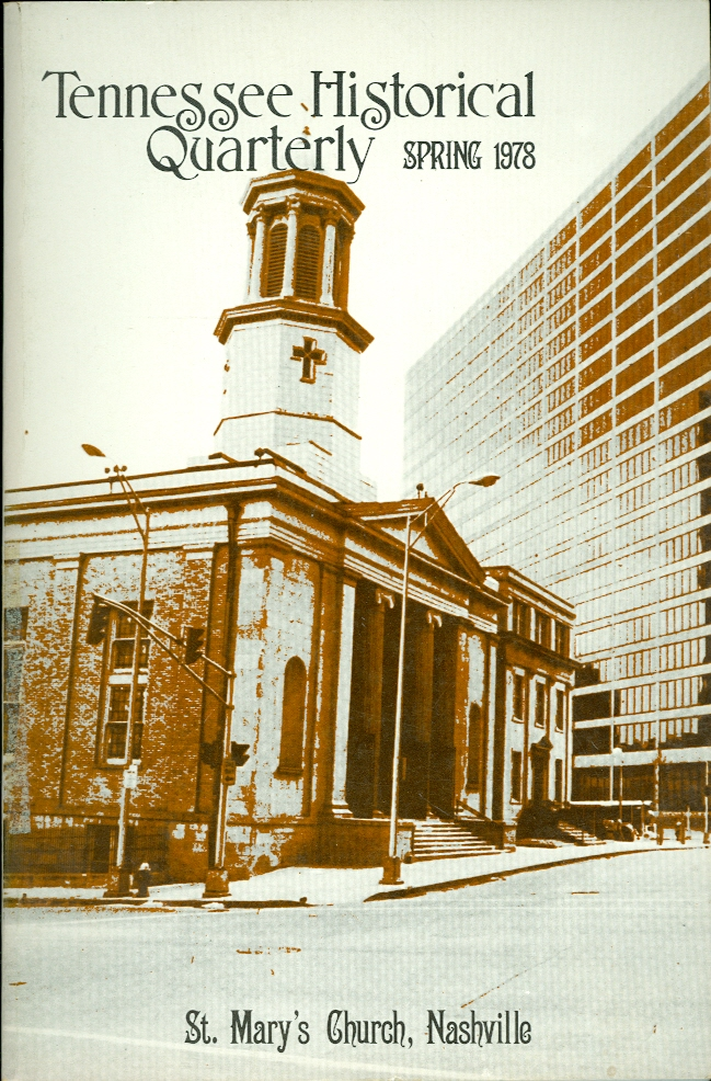 Image for Tennessee Historical Quarterly, Spring 1978