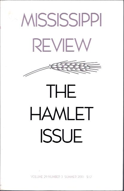 Image for Mississippi Review The Hamlet Issue