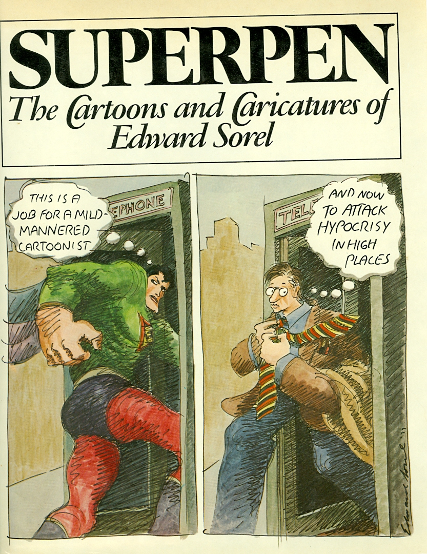 Image for Superpen:  The Cartoons and Caricatures of Edward Sorel