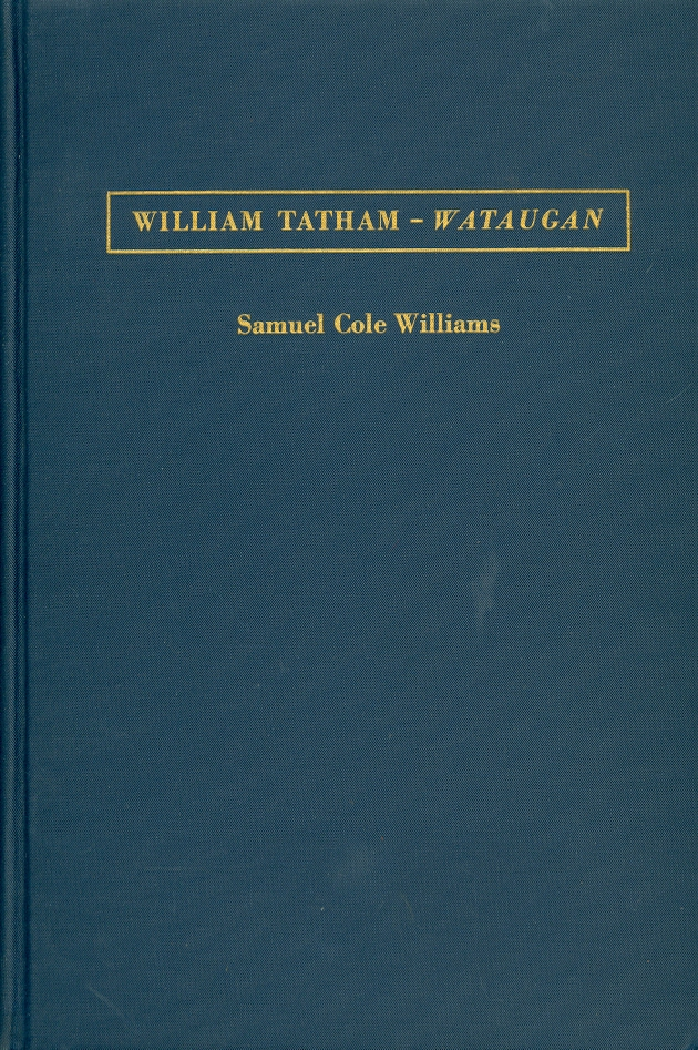 Image for William Tatham -- Wataugan