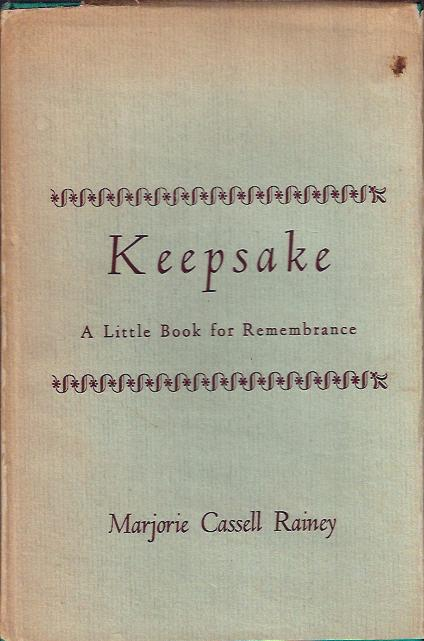 Image for Keepsake A Little Book for Remembrance