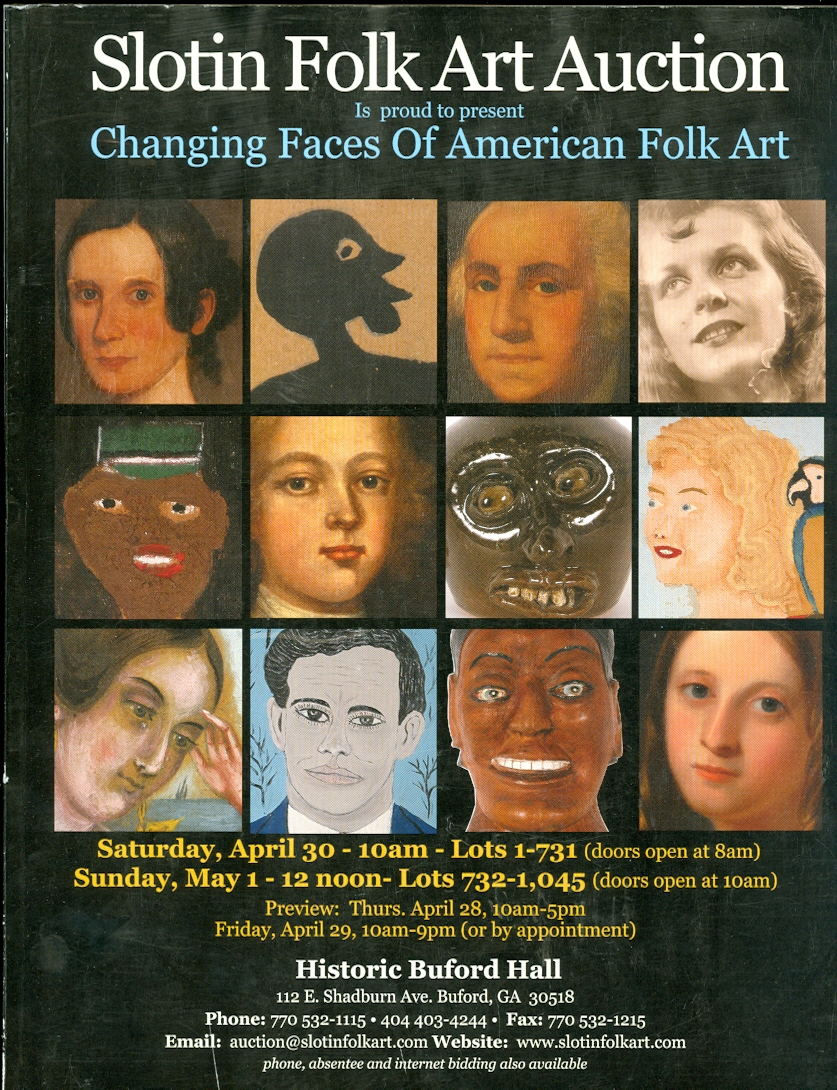 Image for Slotin Folk Art Auction 2011