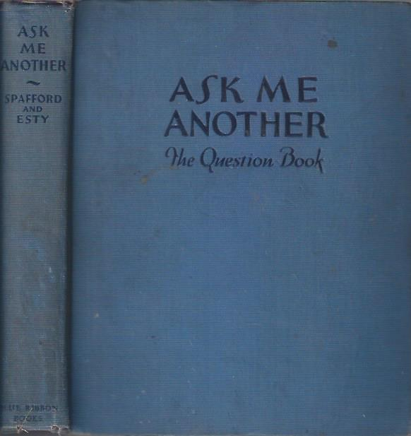 Image for Ask Me Another: The Question Book
