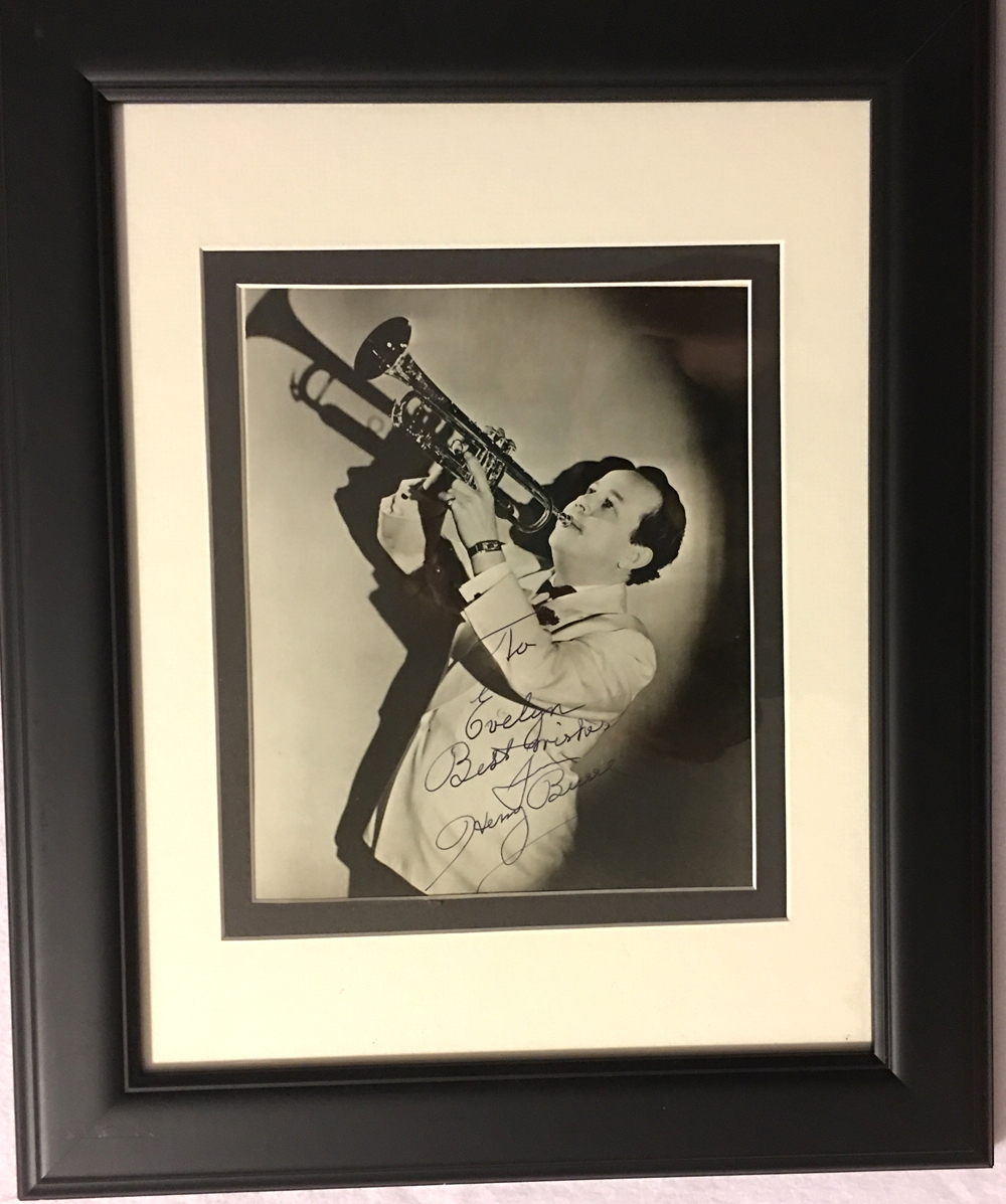 Image for Autographed Photograph of Henry Busse, Framed