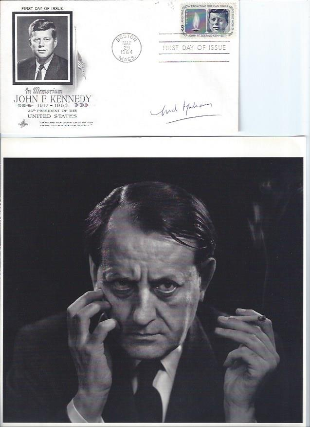 Image for Autographed by Andre MAlraux, JFK First Day Cover 1964