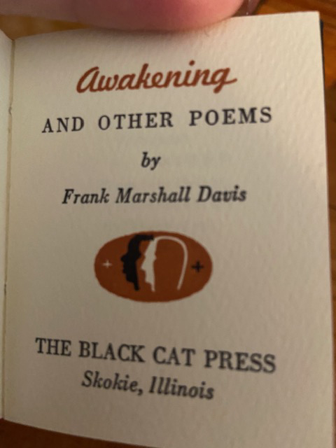 Image for Awakening and Other Poems