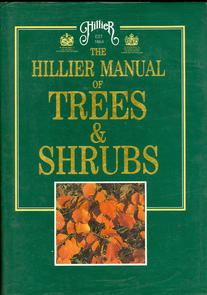 Image for The Hillier Manual of Trees & Shrubs