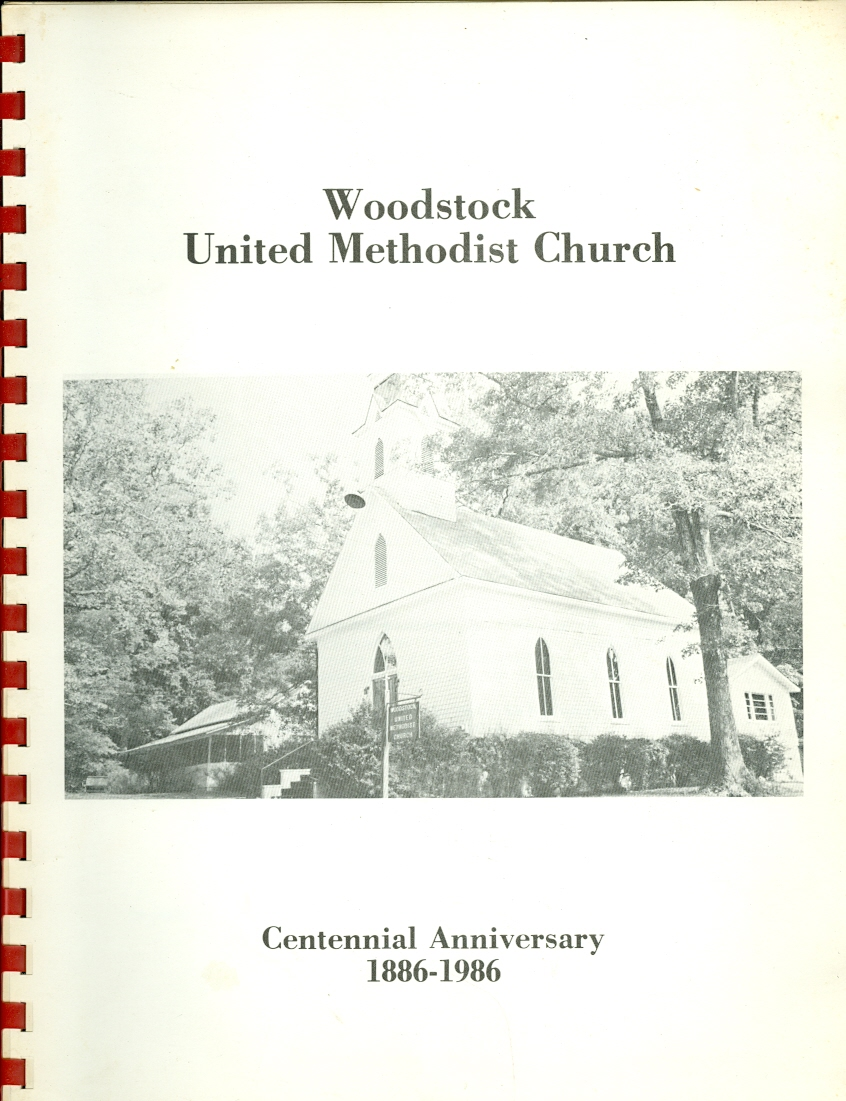 Image for Woodstock United Methodist Church Centennial Anniversary 1886-1986