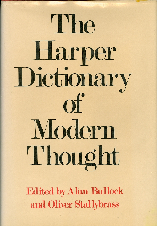 Image for The Harper Dictionary of Modern Thought