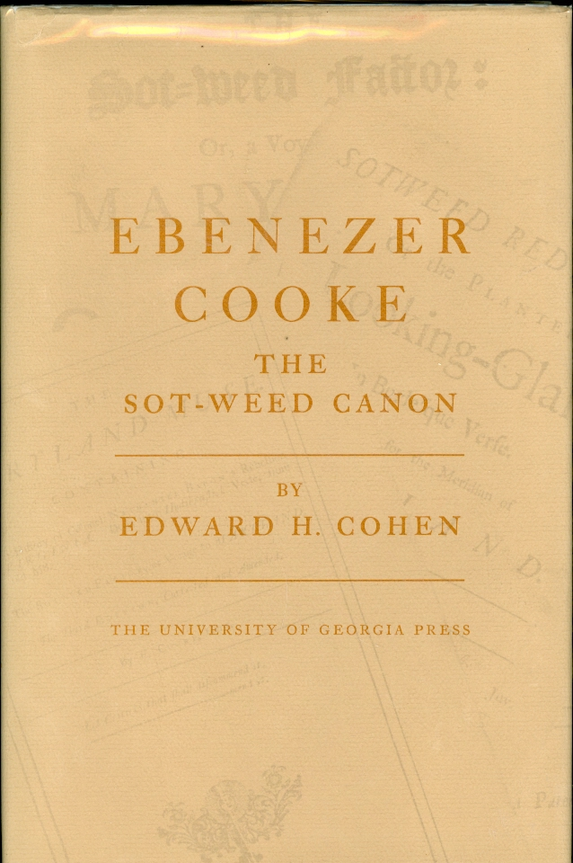 Image for Ebenezer Cooke The Sot-Weed Canon
