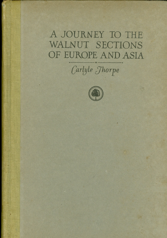 Image for A Journey to the Walnut Sections of Europe and Asia
