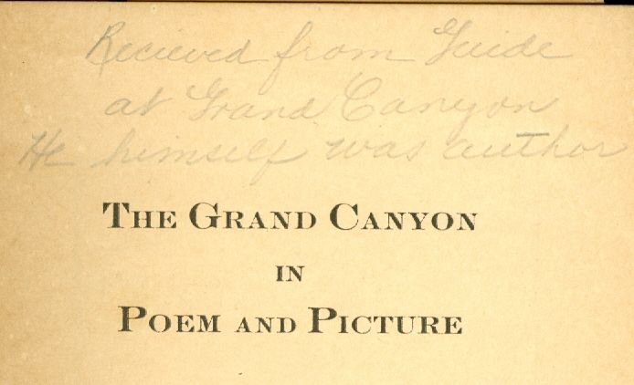 Image for The Grand Canyon in Poem and Picture