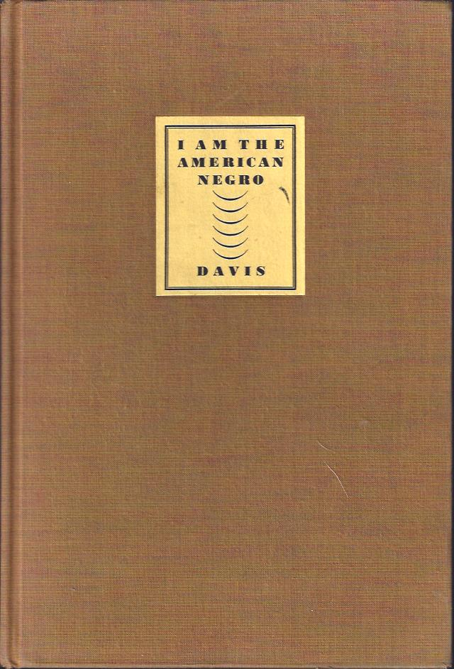 Image for I Am the American Negro