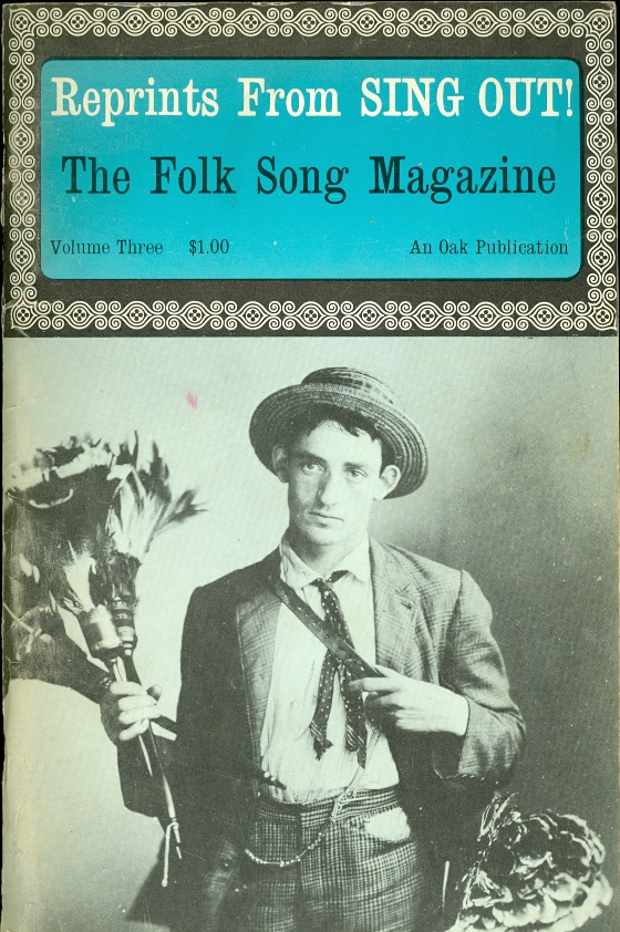 Image for Reprints from Sing Out!  The Folk Song Magazine