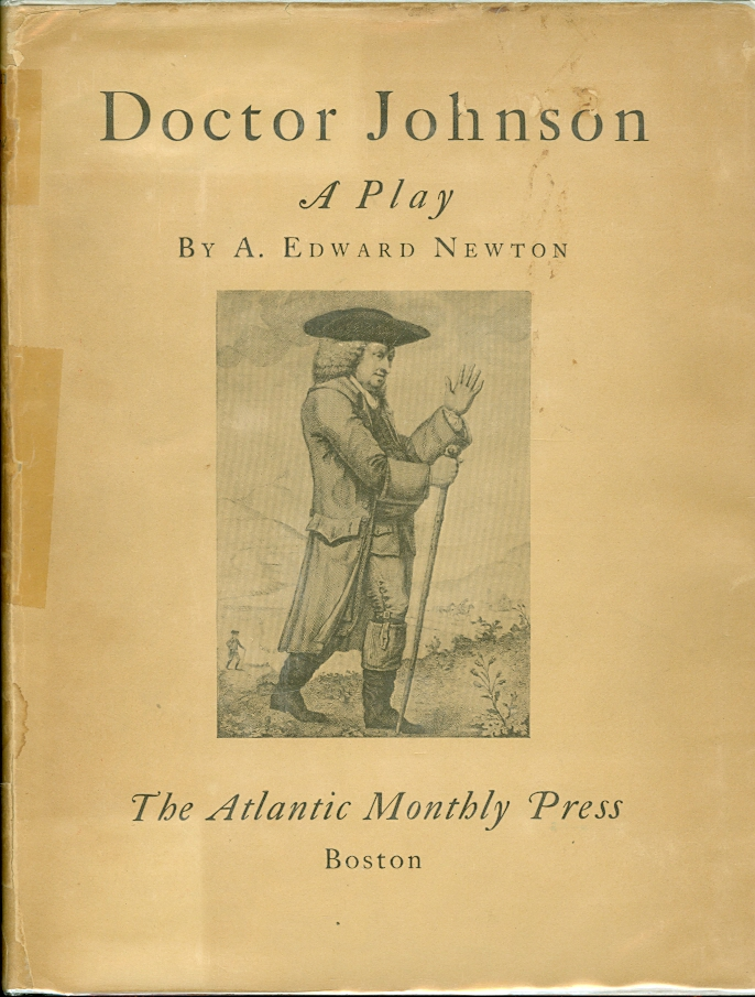 Image for Doctor Johnson: A Play