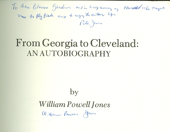 Image for From Georgia to Cleveland An Autobiography