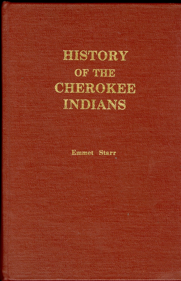 Image for History of the Cherokee Indians