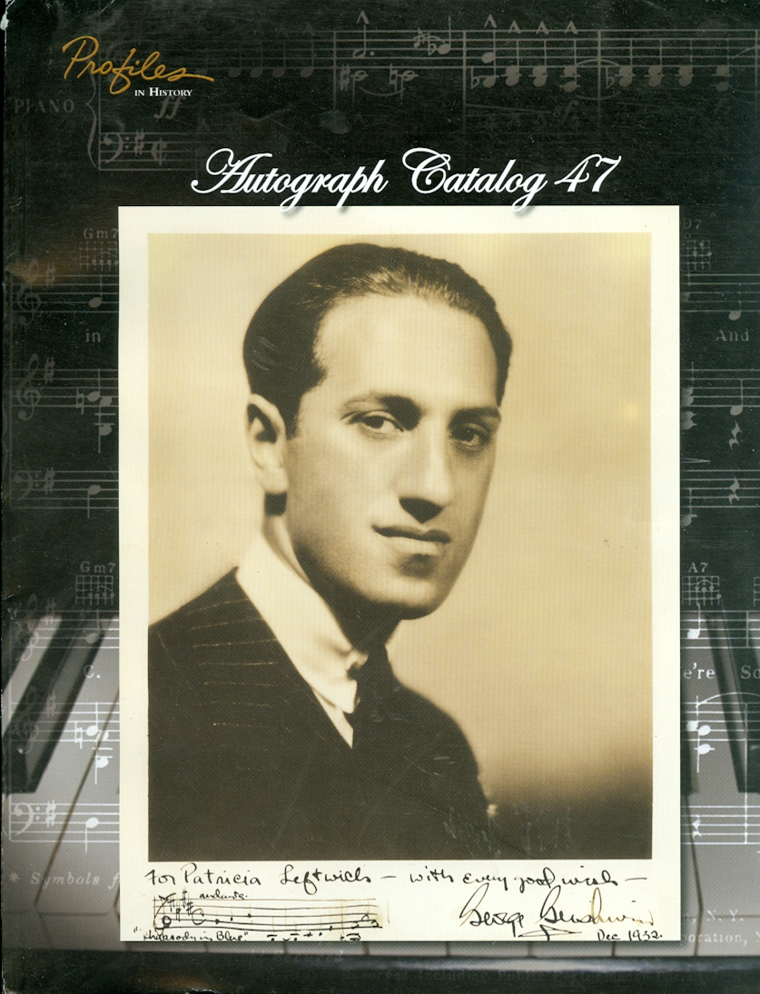 Image for Autograph Catalog 47 Profiles in History