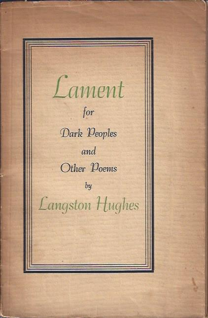 Image for Lament for Dark Peoples and Other Poems