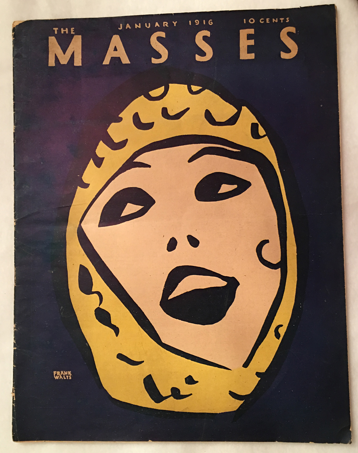 Image for The Masses, January, 1916